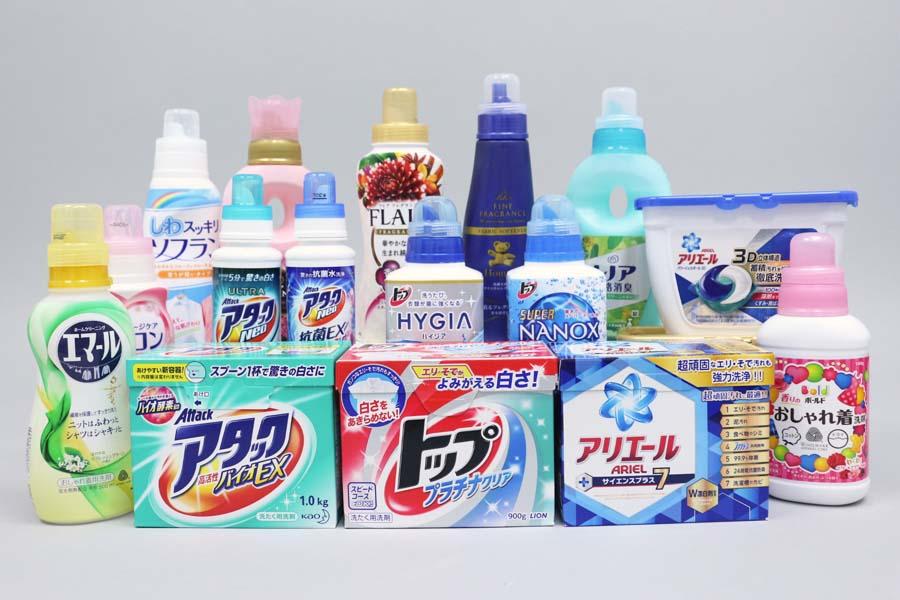 стиральные порошки в Японии